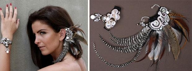 Záušnice | Originálne šperky Vivien Handmade 4