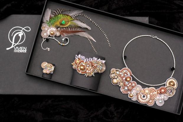 Záušnice | Originálne šperky Vivien Handmade 6
