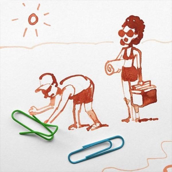 Kreatívne ilustrácie umelca mení predmety na niečo nové 19
