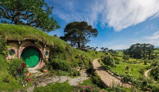 New Zealand Shooting Wallpaper: Hobbiton, Rozprávkový Svet Hobitov Na Novom Zélande