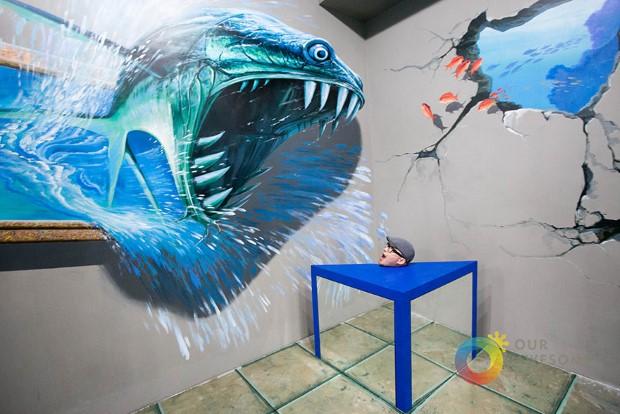 muzeum 3D umenia manila filipiny 1