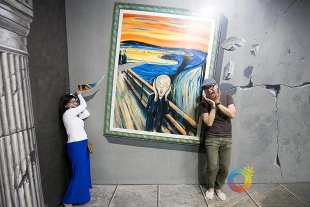 muzeum 3D umenia manila filipiny 16
