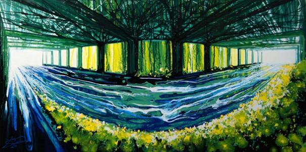 Amy Shackleton gravitacne malovanie bez stetca 4