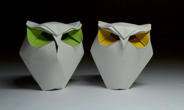 Hoang Tien Quyet origami zvieratka mokrou technikou 14