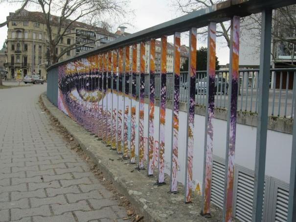 Zebrating Šikovne ukrytý street art, ktorý uvidíte len z určitého uhla pohľadu 1