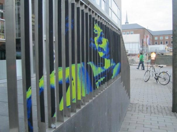 Zebrating Šikovne ukrytý street art, ktorý uvidíte len z určitého uhla pohľadu 14