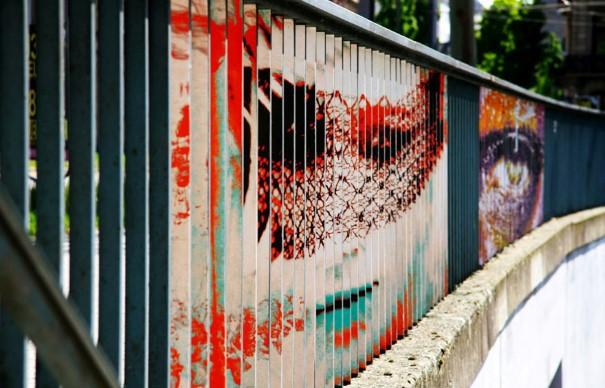Zebrating Šikovne ukrytý street art, ktorý uvidíte len z určitého uhla pohľadu 4