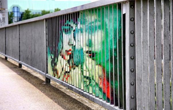 Zebrating Šikovne ukrytý street art, ktorý uvidíte len z určitého uhla pohľadu 9