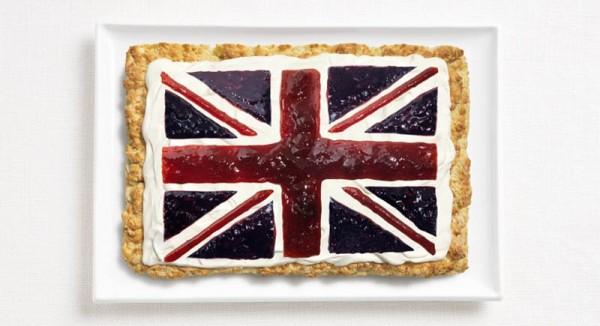 jedle vlajky vytvorene z jedla 16