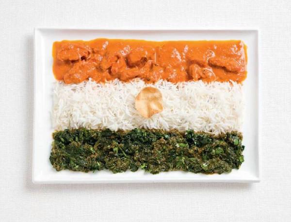 jedle vlajky vytvorene z jedla 7
