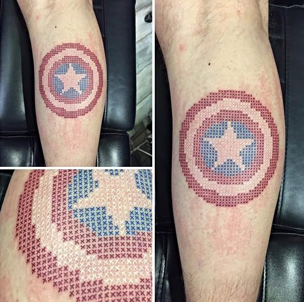 Eva Krbdk vysivane tetovania krizikovym stehom 10