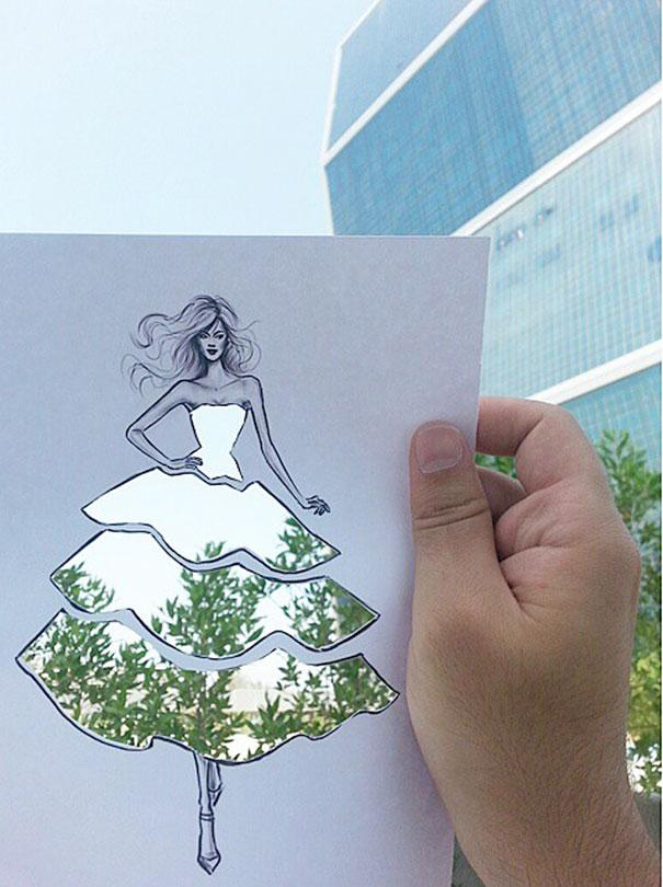 ilustracie navrhy siat inspirovane okolim 2