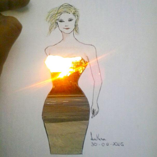 ilustracie navrhy siat inspirovane okolim 6