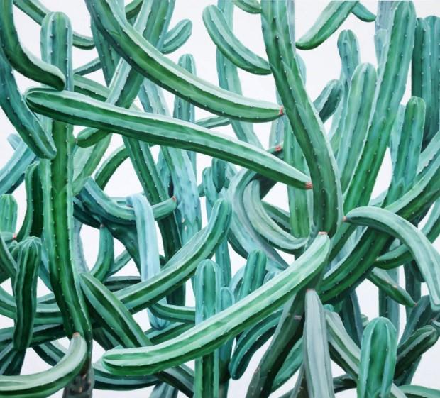 Hyperrealistické maľby kaktusov od Kwang-Ho Lee 3