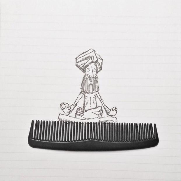 mlady cesky umelec meni obycajne veci na neobycajne ilustracie 10