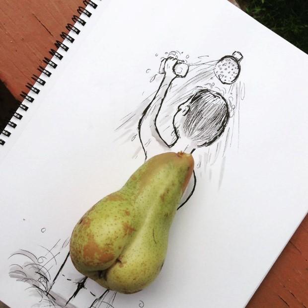 mlady cesky umelec meni obycajne veci na neobycajne ilustracie 13