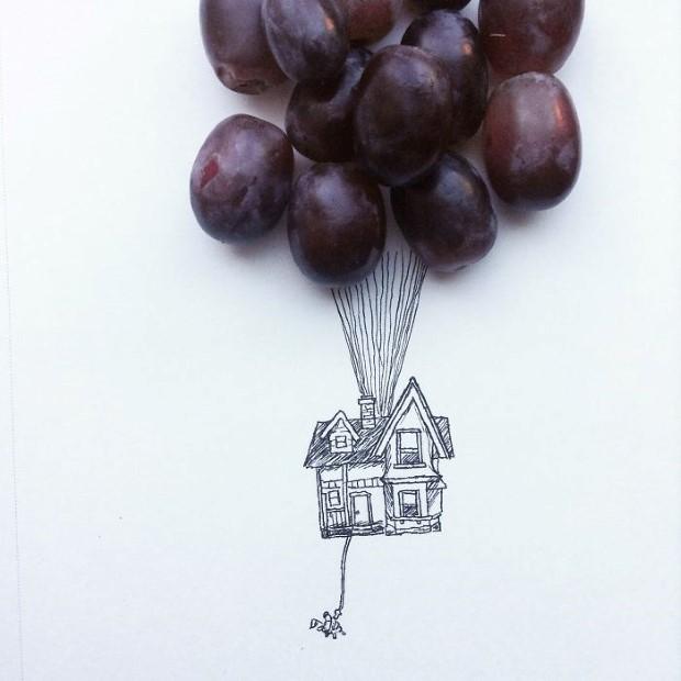 mlady cesky umelec meni obycajne veci na neobycajne ilustracie 4