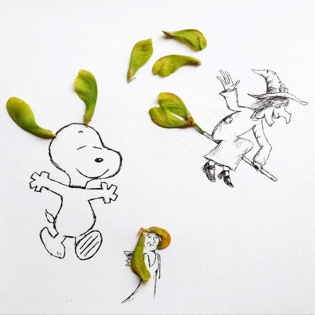 mlady cesky umelec meni obycajne veci na neobycajne ilustracie 5