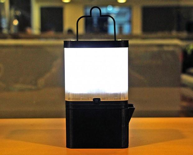 Lampa SALt poháňaná slanou vodou 1