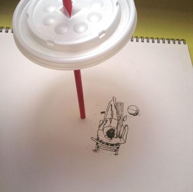 mlady cesky umelec meni obycajne veci na neobycajne ilustracie 19