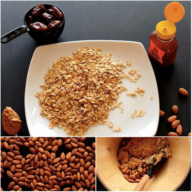 Zdravé müsli tyčinky z 5 ingrediencií 6