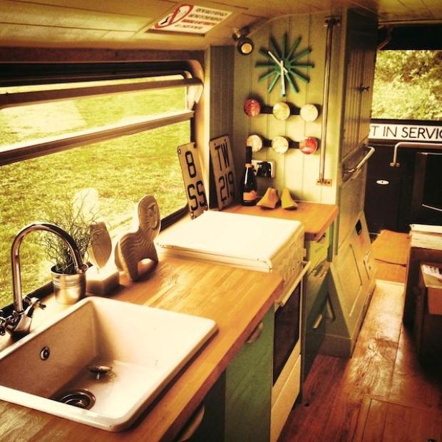 Adam Collier-Woods Big Green Bus double-decker 6e