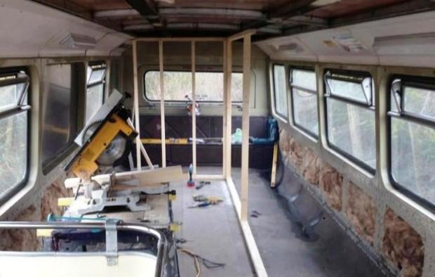 Adam Collier-Woods Big Green Bus double-decker 8