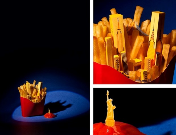 Bea Crespo and Andrea G. Portoles brunchcity jedle dioramy svetovych metropol 2