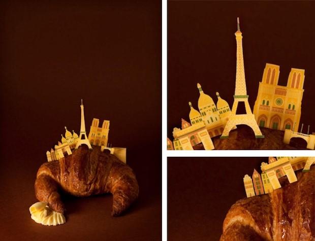 Bea Crespo and Andrea G. Portoles 11 miniatúrnych metropol v miestných dobrotách 6