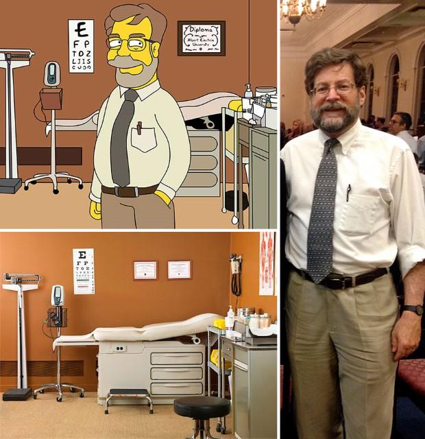 Valerie Zaremska pretvára fotografie ľudí na karikatúry Simpsonovcov 3