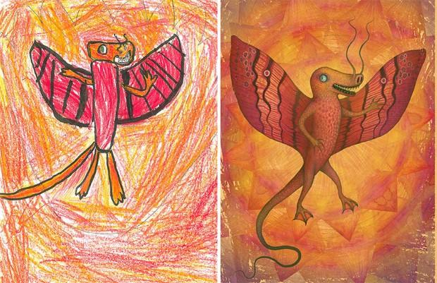 The Monster Project detske kresby dostavaju vdaka umelcom novy rozmer 13