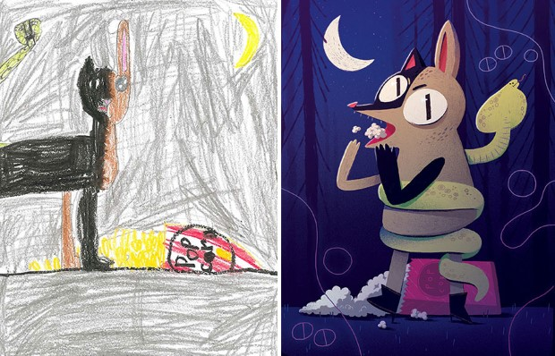 The Monster Project detske kresby dostavaju vdaka umelcom novy rozmer 14