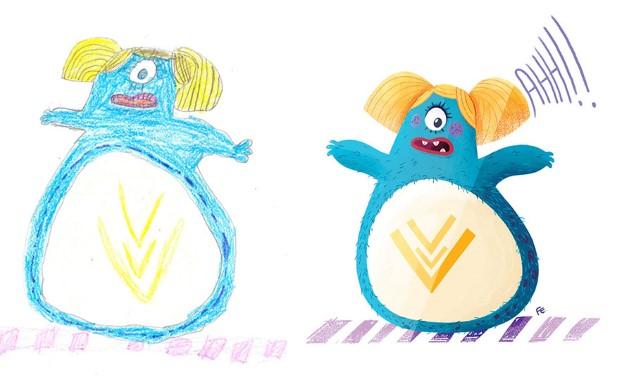 The Monster Project detske kresby dostavaju vdaka umelcom novy rozmer 5