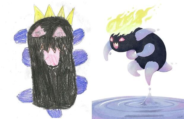 The Monster Project detske kresby dostavaju vdaka umelcom novy rozmer 7