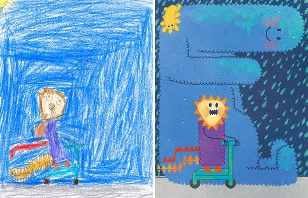 The Monster Project detske kresby dostavaju vdaka umelcom novy rozmer 8