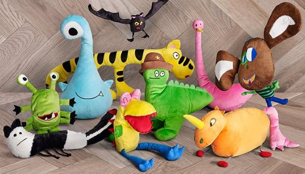 kampan plysovych hraciek podla predlohy detskych kresieb 10