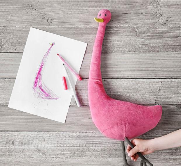 IKEA kampan plysovych hraciek podla predlohy detskych kresieb 3