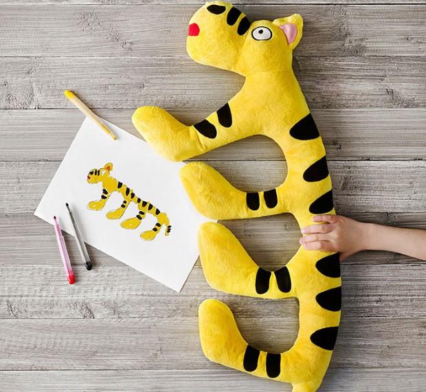 kampan plysovych hraciek podla predlohy detskych kresieb 7