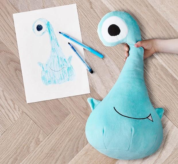 kampan plysovych hraciek podla predlohy detskych kresieb 9