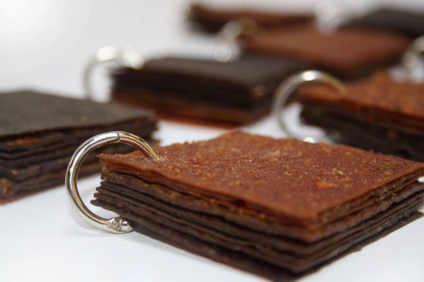 Kožené tašky vyrobené z nadbytočného ovocia | Fruitleather Rotterdam 5