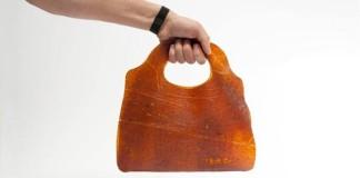 Kožené tašky vyrobené z nadbytočného ovocia | Fruitleather Rotterdam