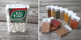 Praktické koreničky z krabičiek od tic tacu na cesty | DIY nápad