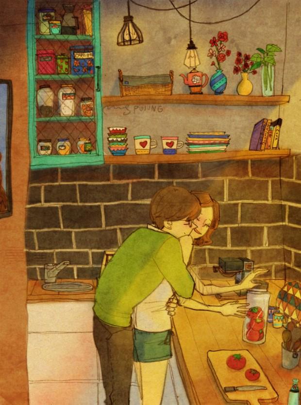 25 veľkých maličkostí, ktoré tvoria skutočnú lásku | Ilustrácie Puuung 1