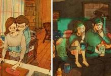 25 veľkých maličkostí, ktoré tvoria skutočnú lásku | Ilustrácie Puuung