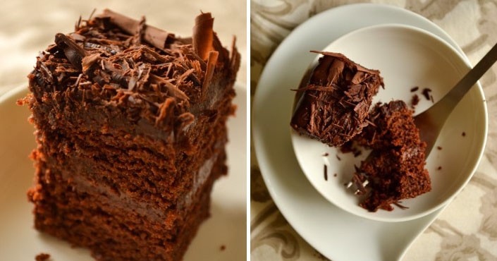 Čokoládový koláč, na ktorý nepotrebujete vajíčka | Vegan recept 01