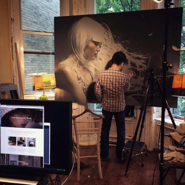 Hirothropologie fotorealisticke malby umenie 5