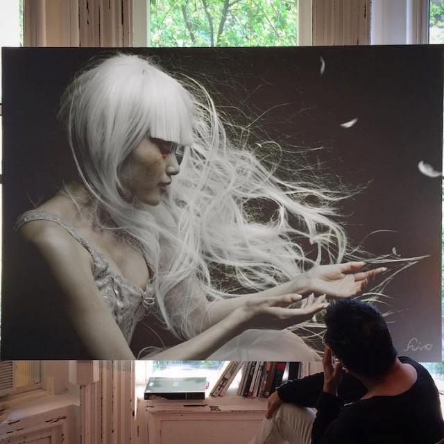 Hirothropologie fotorealisticke malby umenie 6