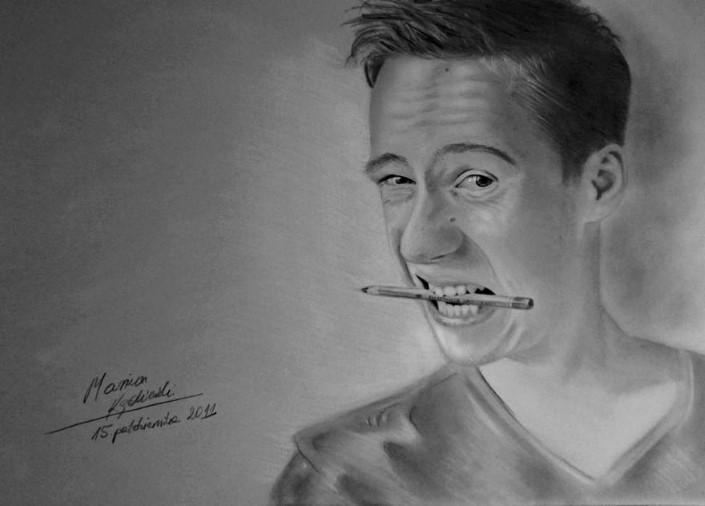 Mariusz Kedzierski umelec bez ruk 10
