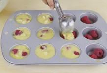 Malinové muffiny bez múky len z 3 ingrediencií | Recept