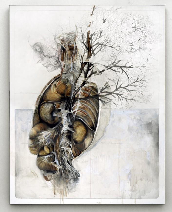 Nunzio Paci grafitove a olejove malby 5